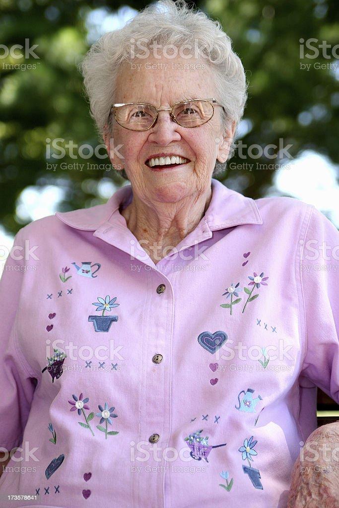 My Grandma. royalty-free stock photo