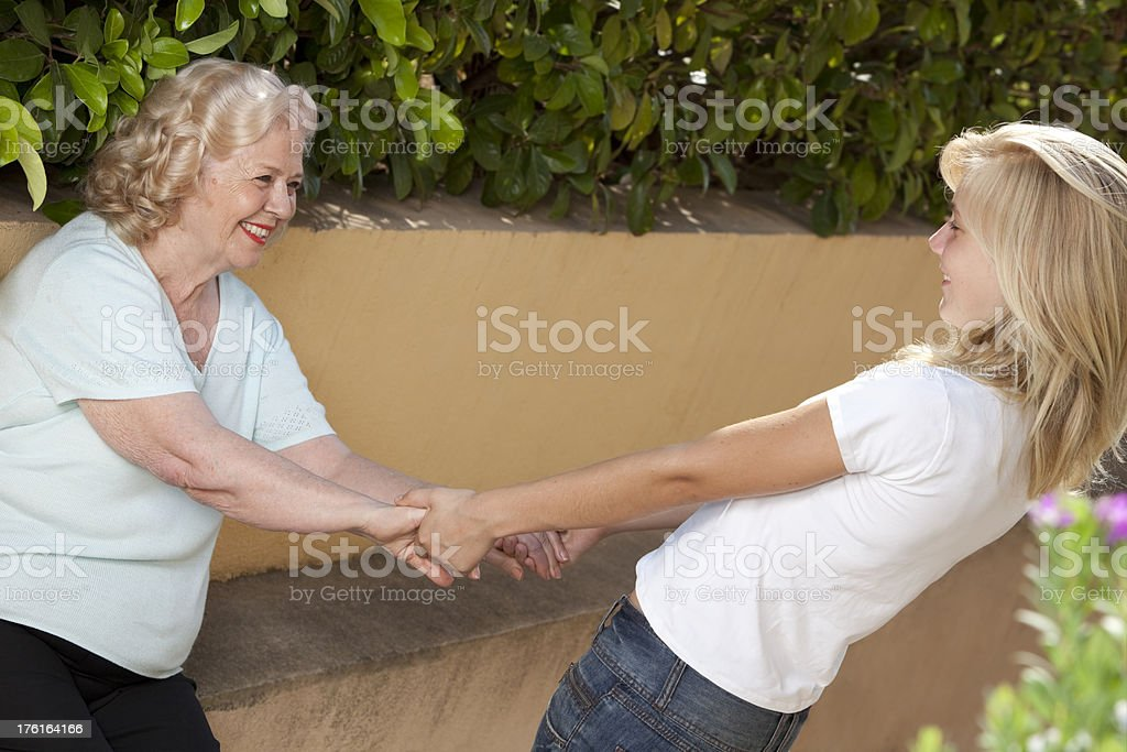 my grandma royalty-free stock photo