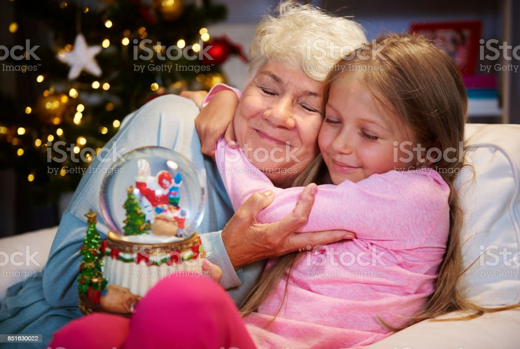 My grandmother always know how to console me stock photo