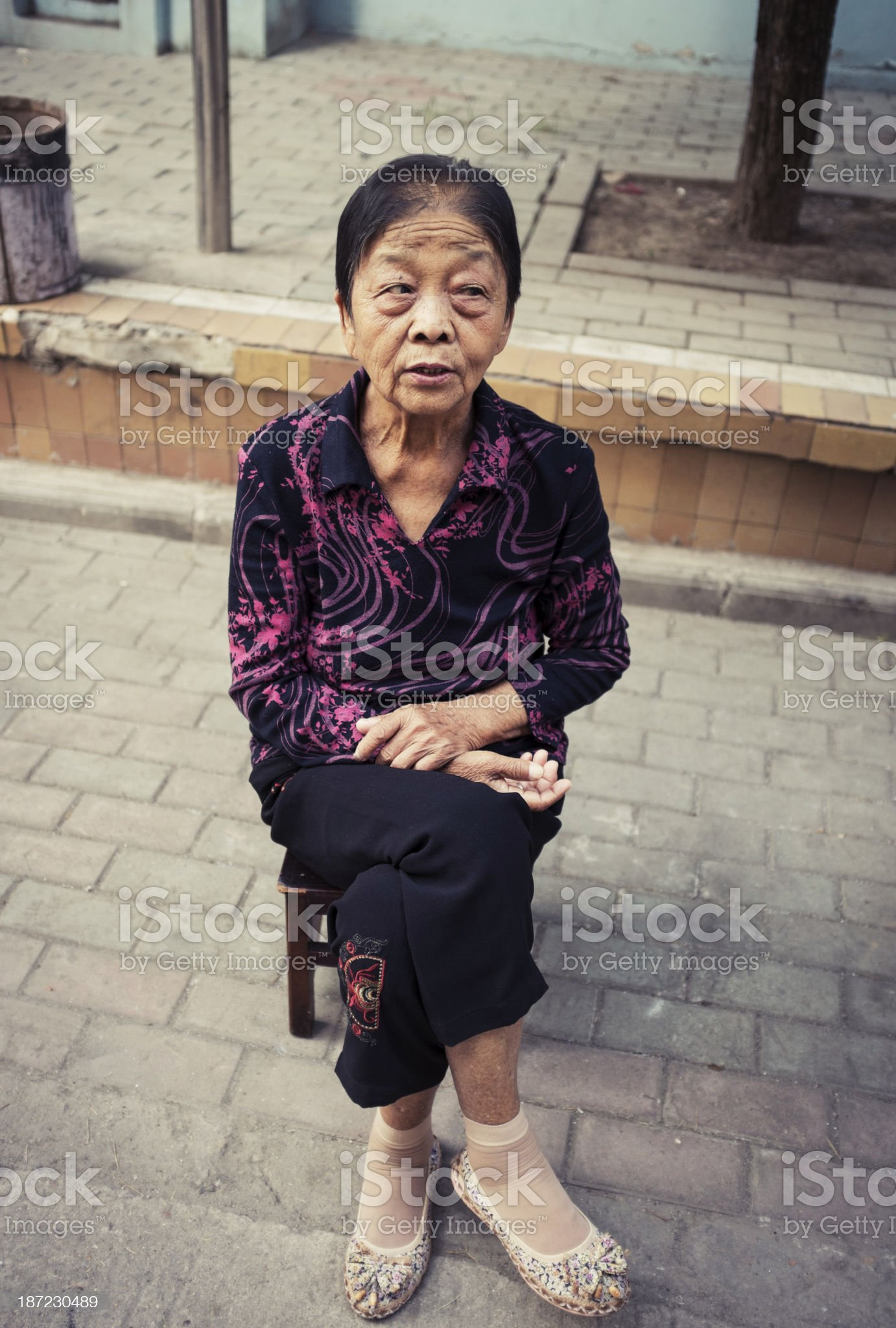 My grandmother royalty-free stock photo