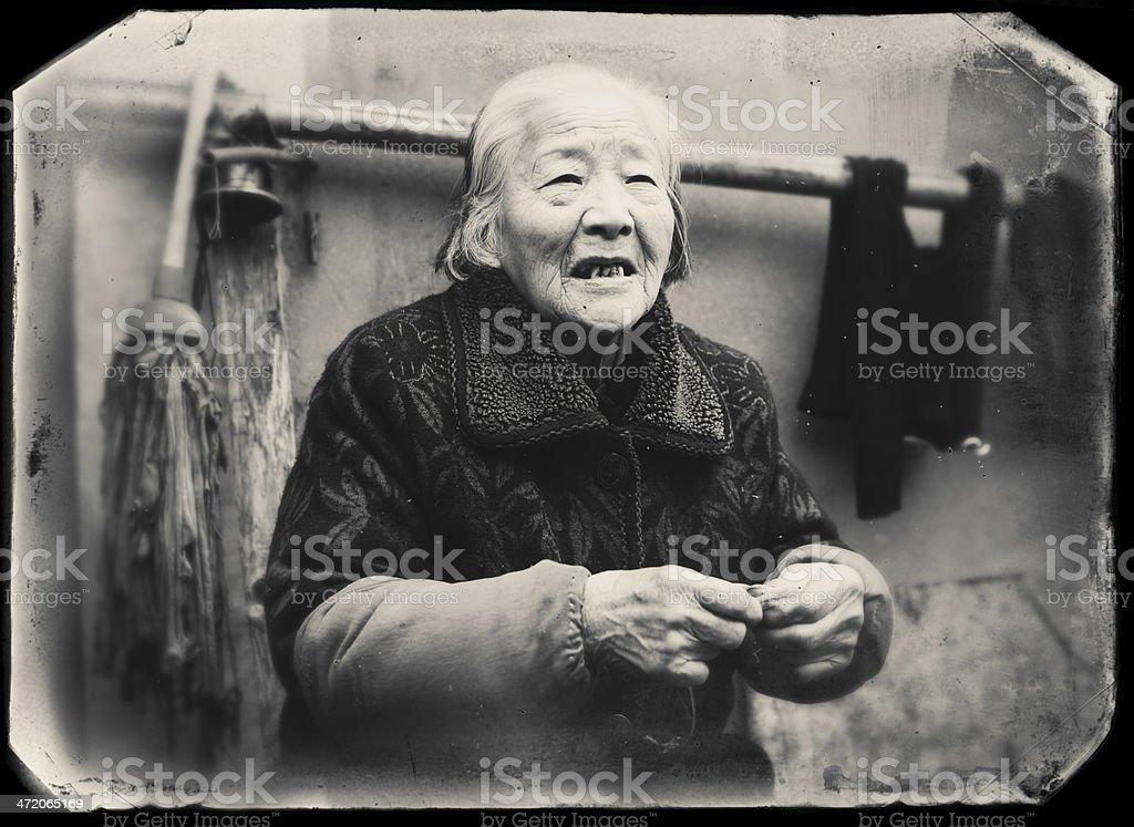 My grandmother stock photo