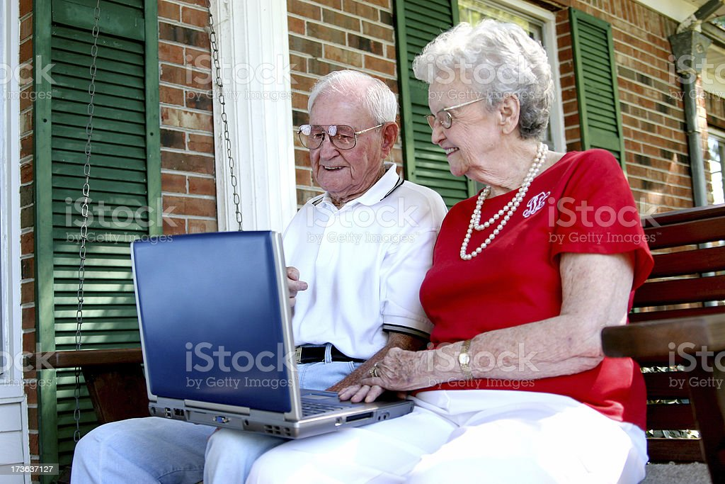 My Grandparents. royalty-free stock photo