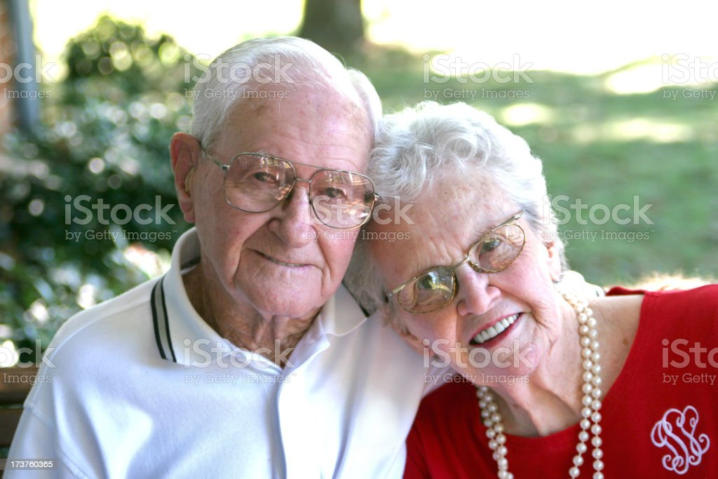 My Grandparents. royalty-free stock photo