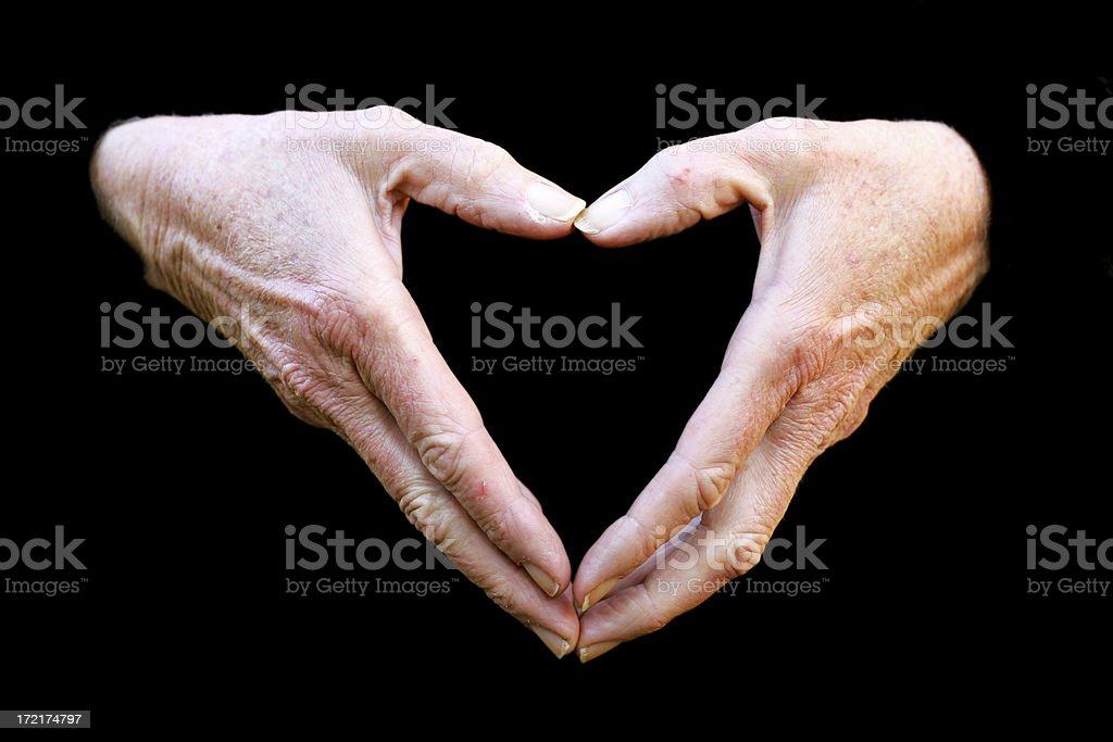 My Heart in Your Hands royalty-free stock photo