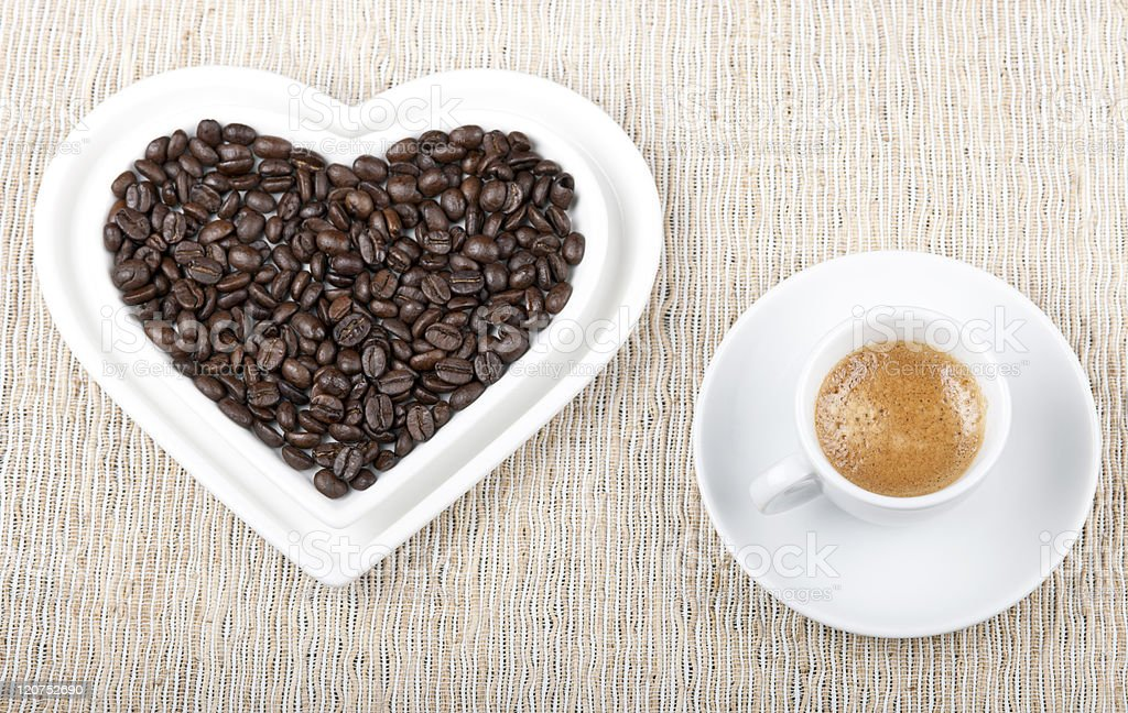 My Heart Longs for Espresso royalty-free stock photo