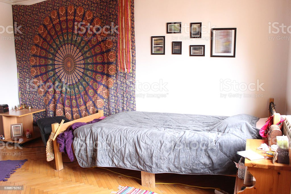 My Hippie Room stock photo