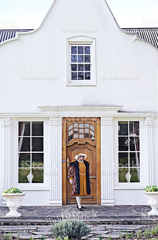 My humble abode stock photo