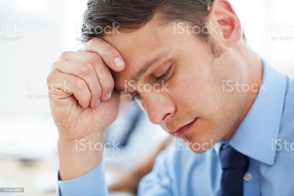 My job is really on the line here... royalty-free stock photo