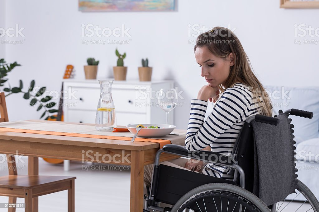 My life doesn't have sense stock photo