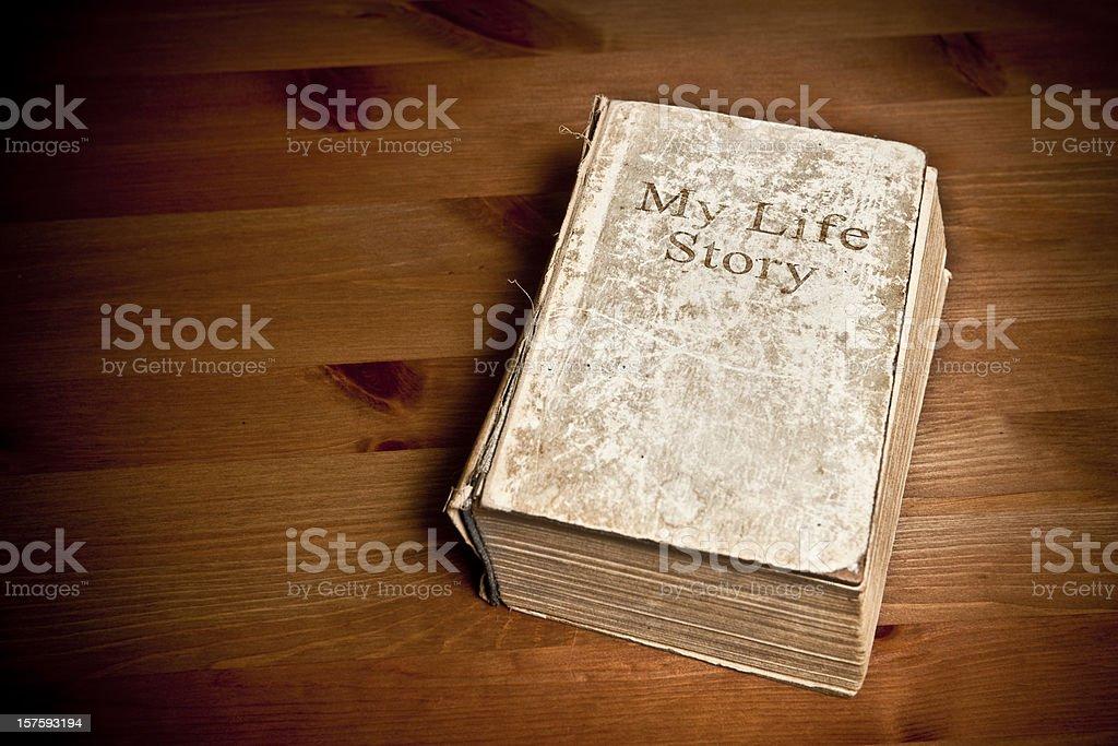 My life story stock photo