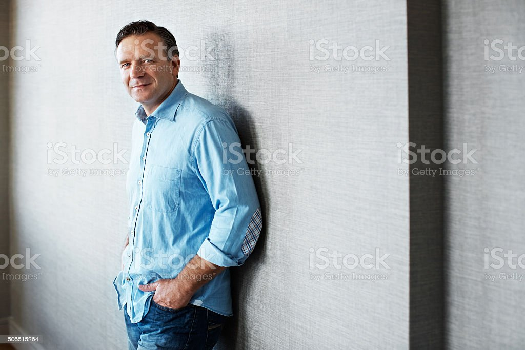 My life to retirement is right on track! stock photo