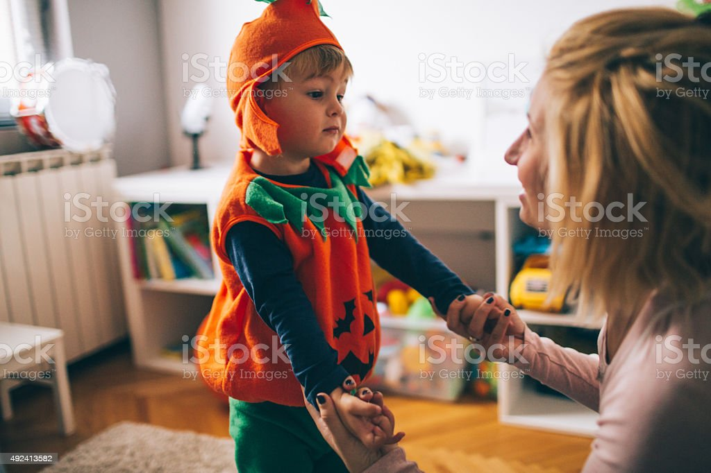 My little pumpkin stock photo