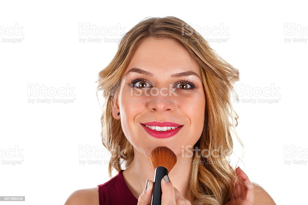 My make-up is ready stock photo