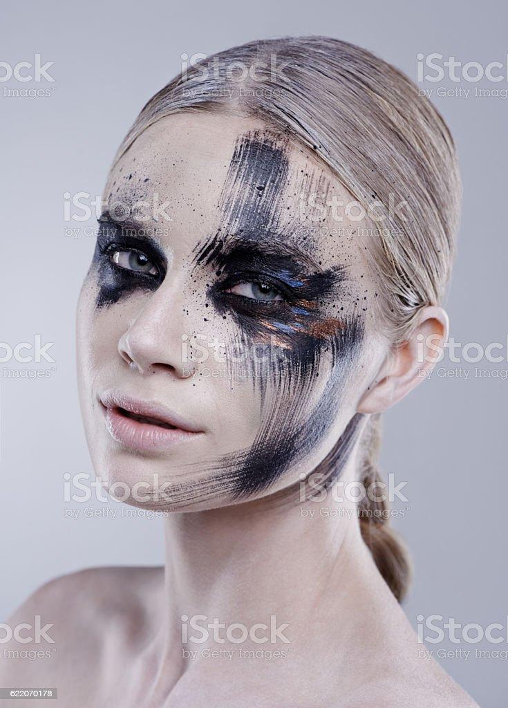My makeup, my art stock photo