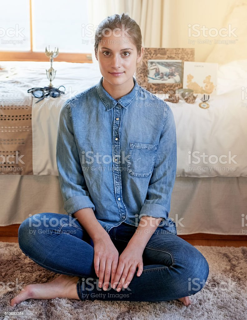 My memories are what make me stock photo