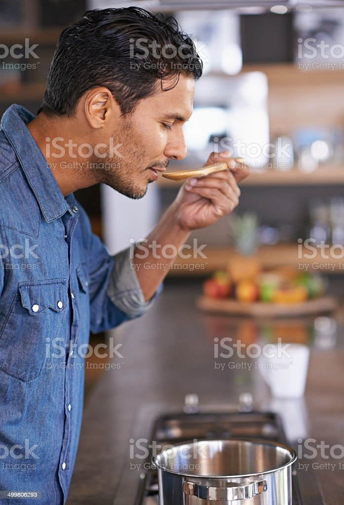 My mom's recipes are always the best stock photo