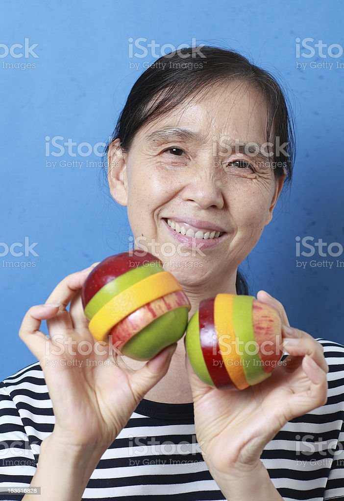 my mother royalty-free stock photo