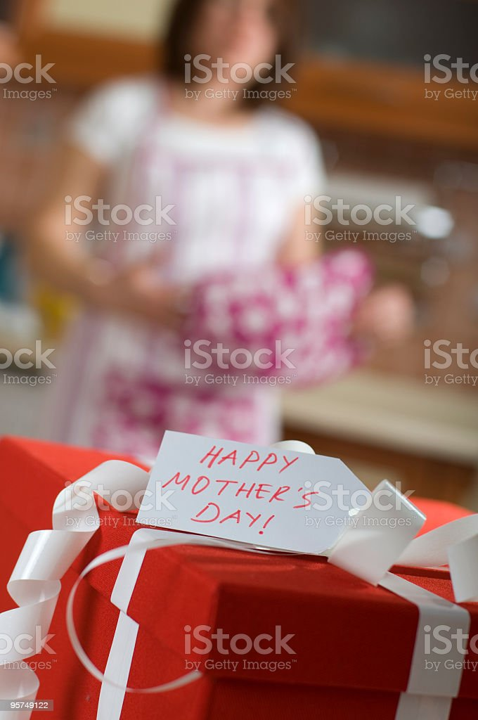 My Mother's Gift royalty-free stock photo