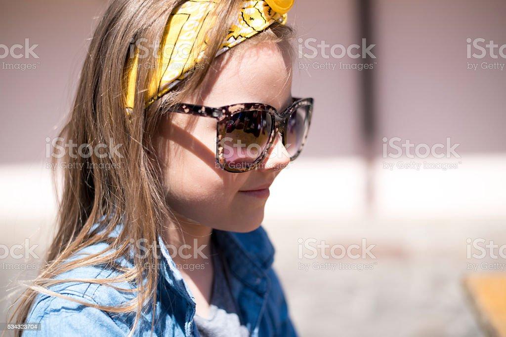 My mum's sunglasses stock photo