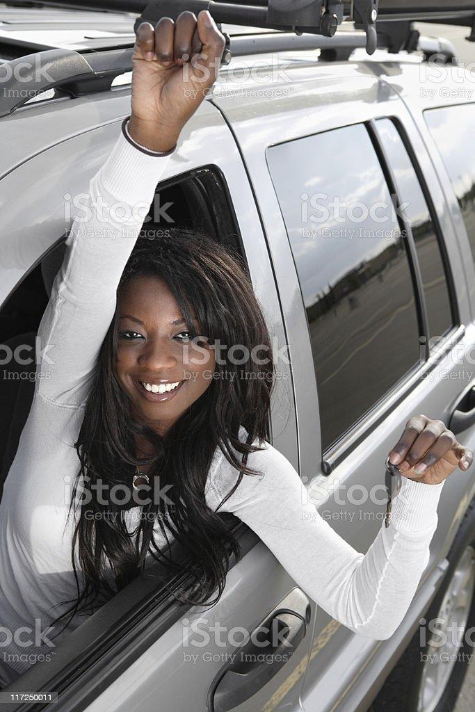 My new car royalty-free stock photo