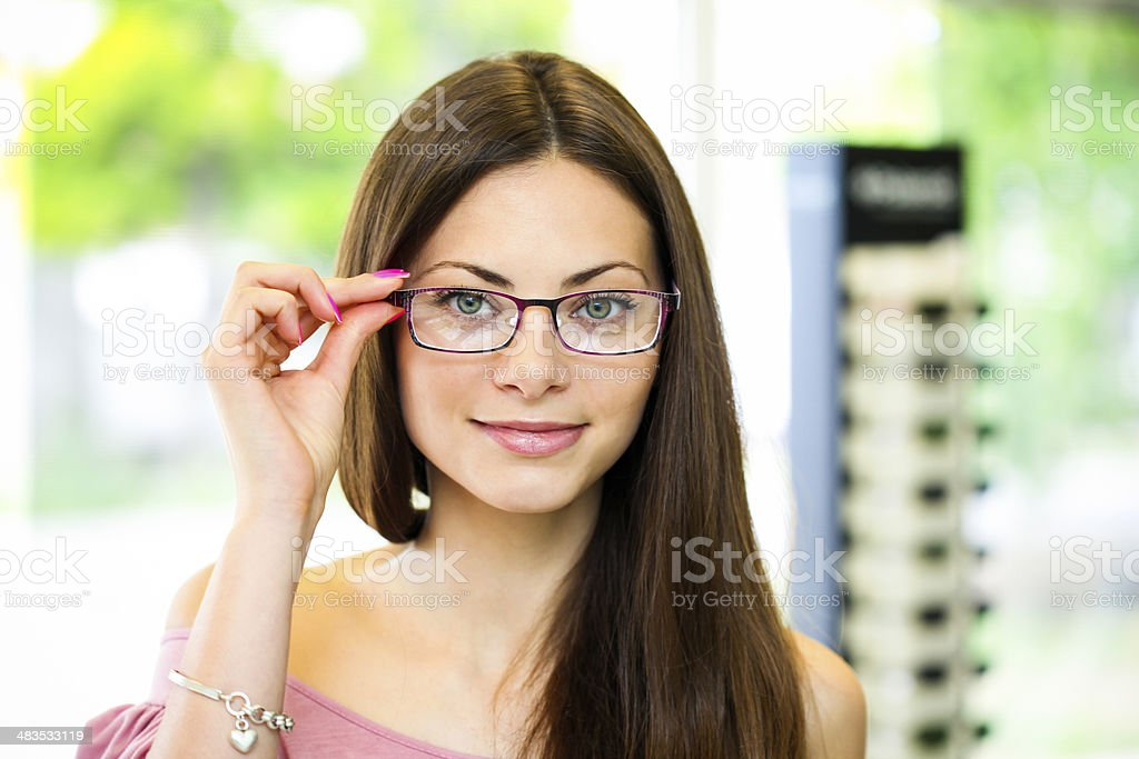 My new glasses royalty-free stock photo