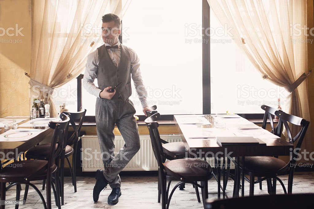 My Oh My! What A Stylish Fellow. stock photo