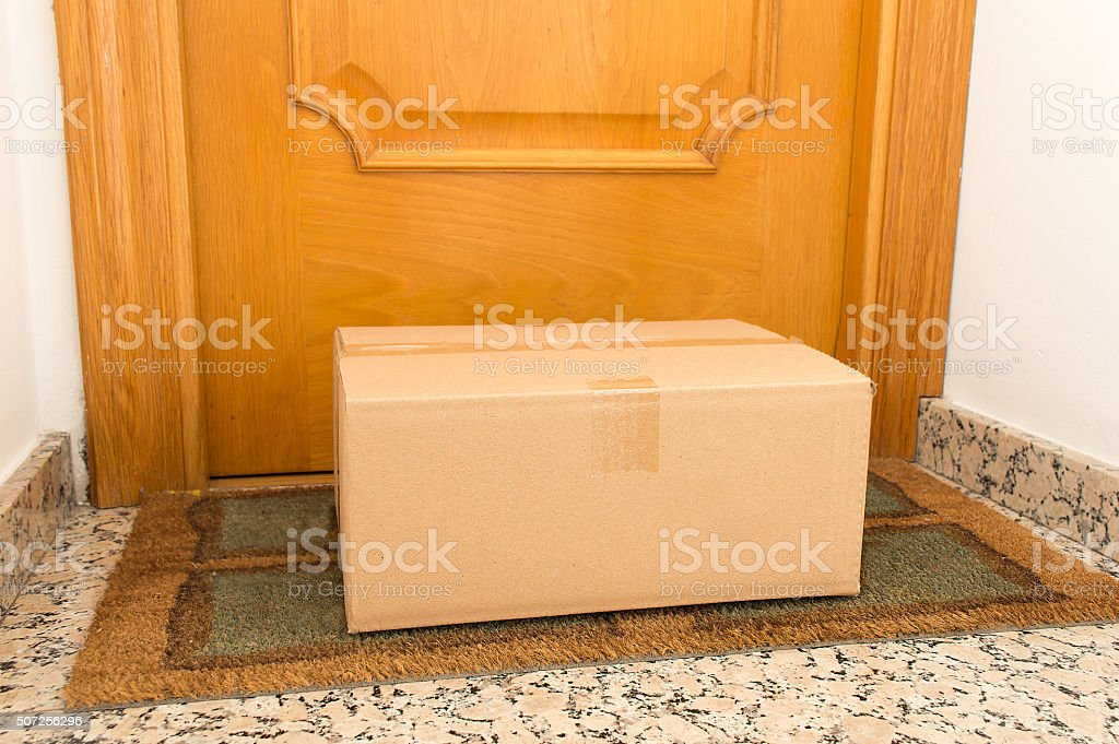 my order has arrived stock photo