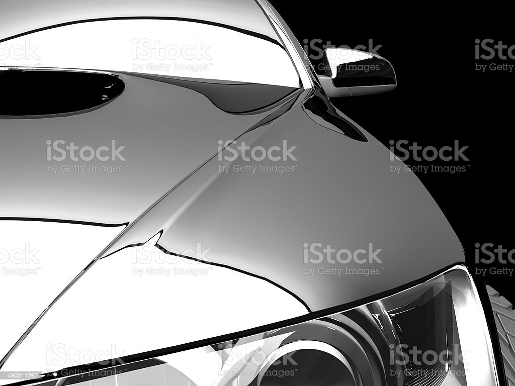 My own car design stock photo