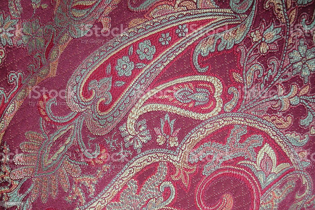 my paisley pillow stock photo