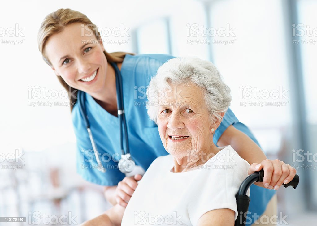 My patient's care is a top priority royalty-free stock photo