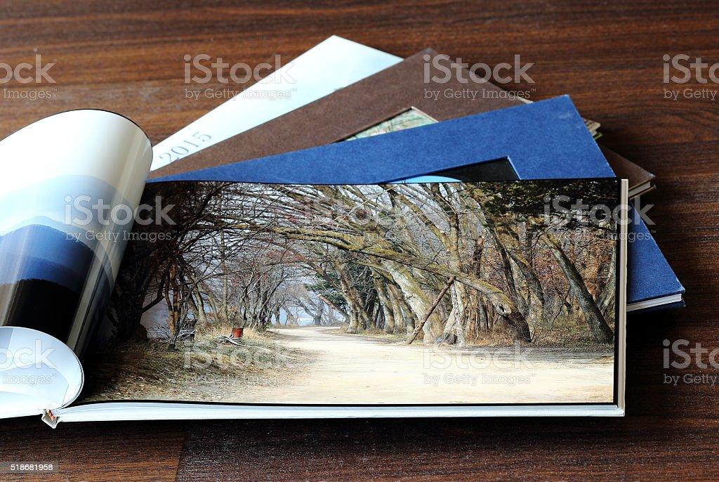 My Photo Books stock photo