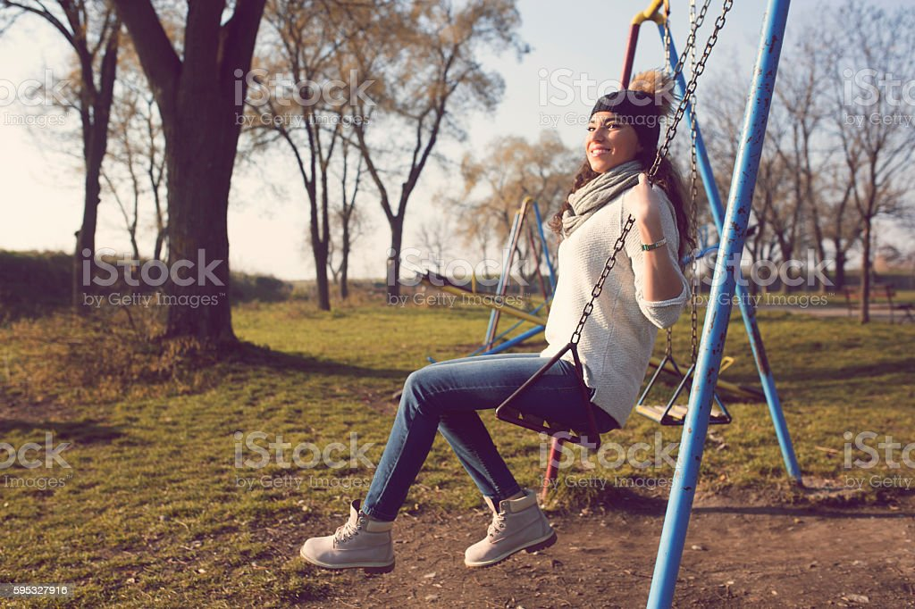 My playground stock photo