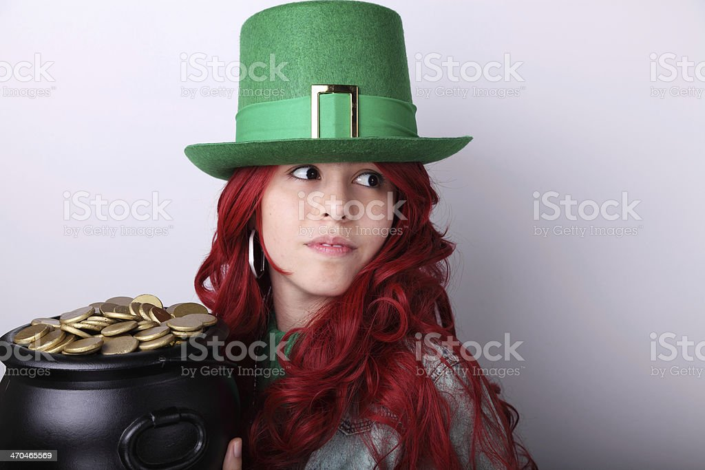 My pot of gold stock photo