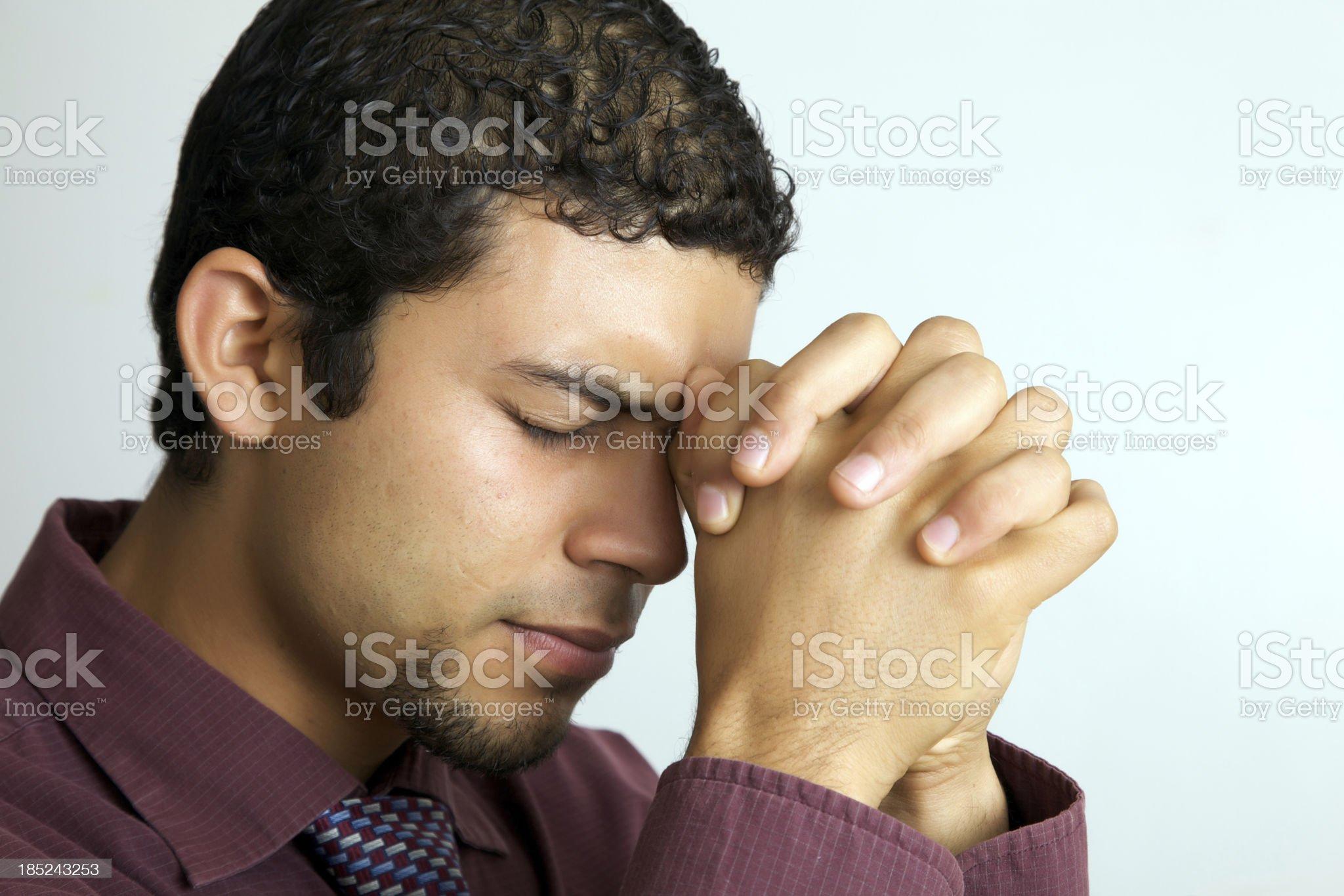 My pray royalty-free stock photo