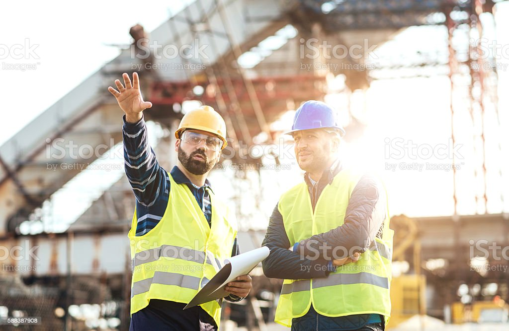 My proposal for next construction phase is the following... stock photo