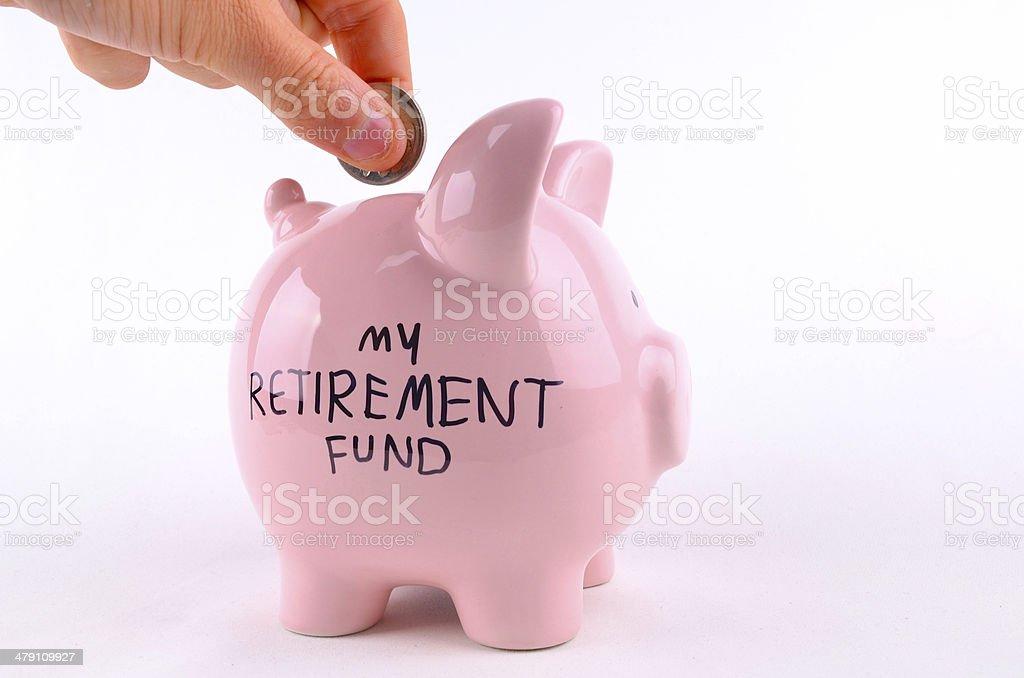My Retirement Fund stock photo