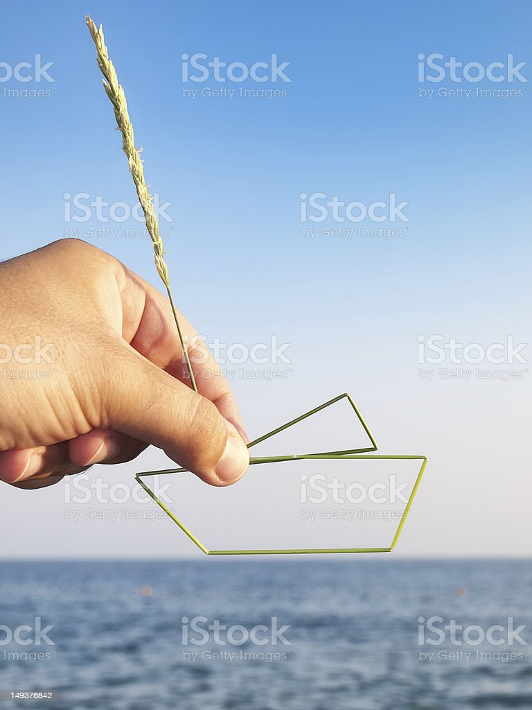 My ship project royalty-free stock photo