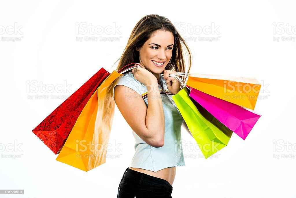 my shopping royalty-free stock photo