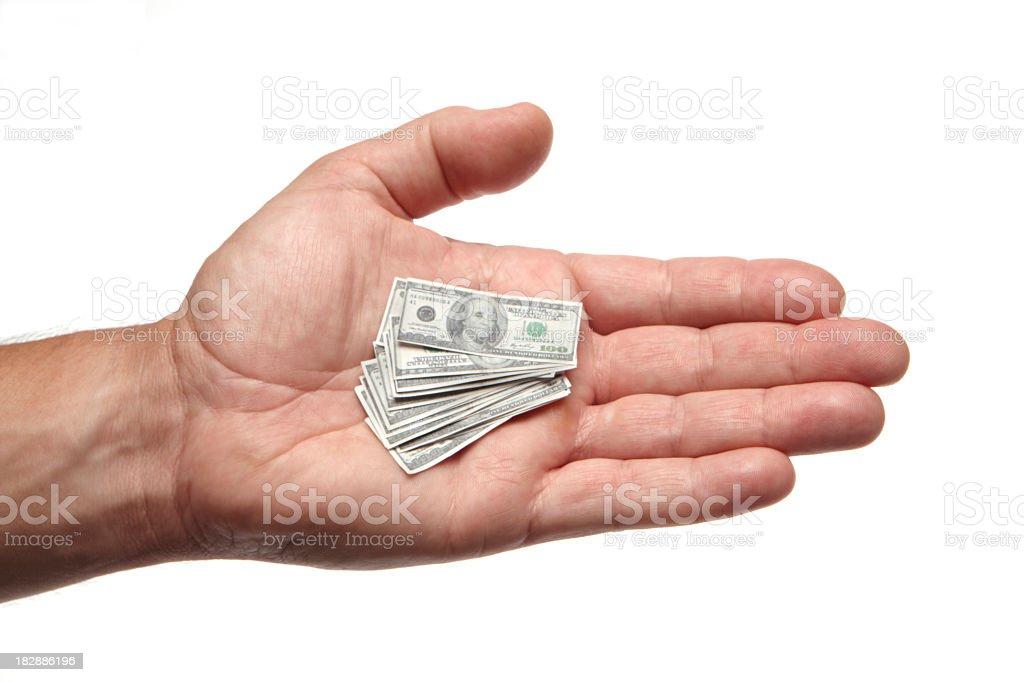 My shrinking savings stock photo