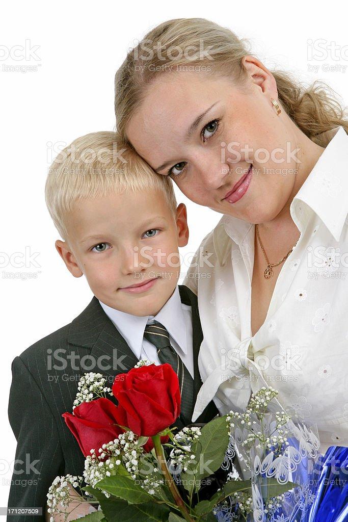 My son royalty-free stock photo