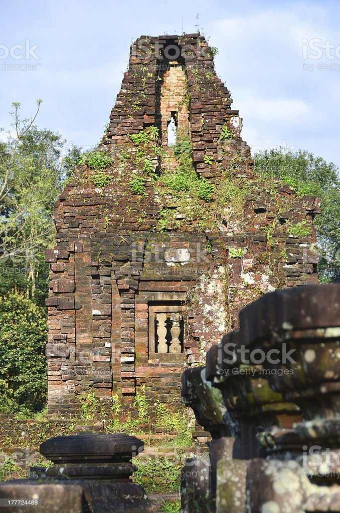 My Son Ruins Temple C3 stock photo