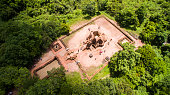 My Son Sanctuary - Quang Nam,  view from above