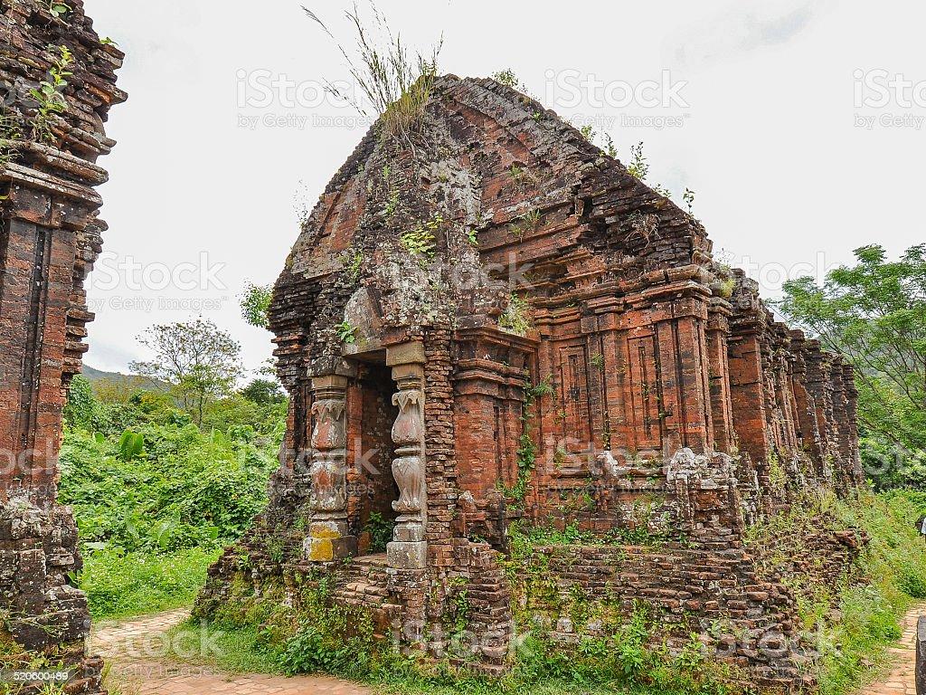 My Son Temple - Quang Nam, Vietnam stock photo