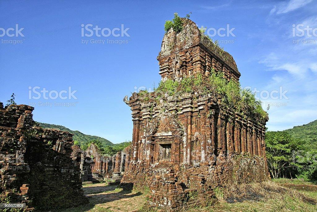 My Son temple - Vietnam stock photo