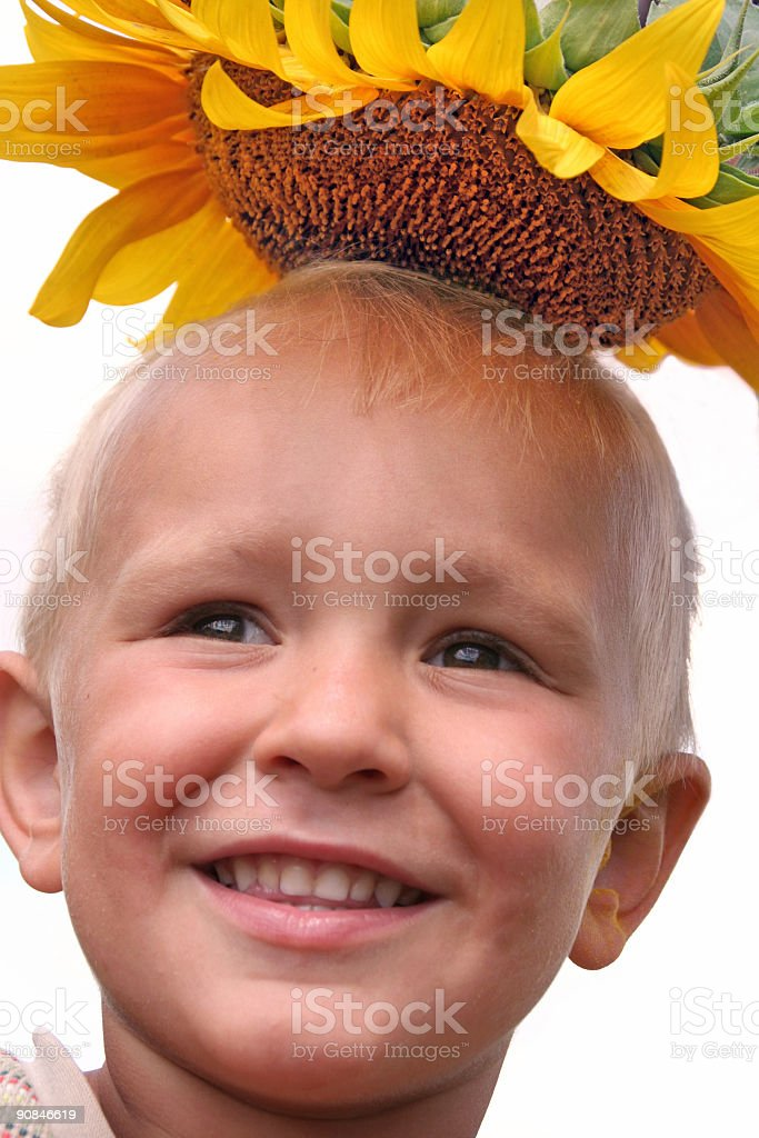 My summer hat. royalty-free stock photo