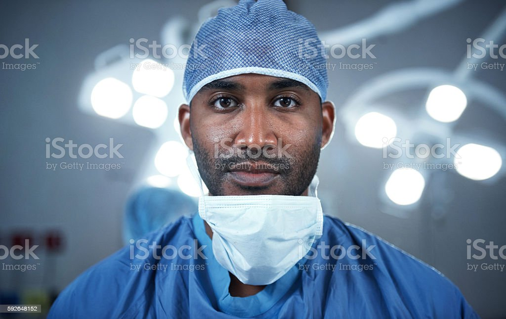 My surgeries come with a high success rate stock photo