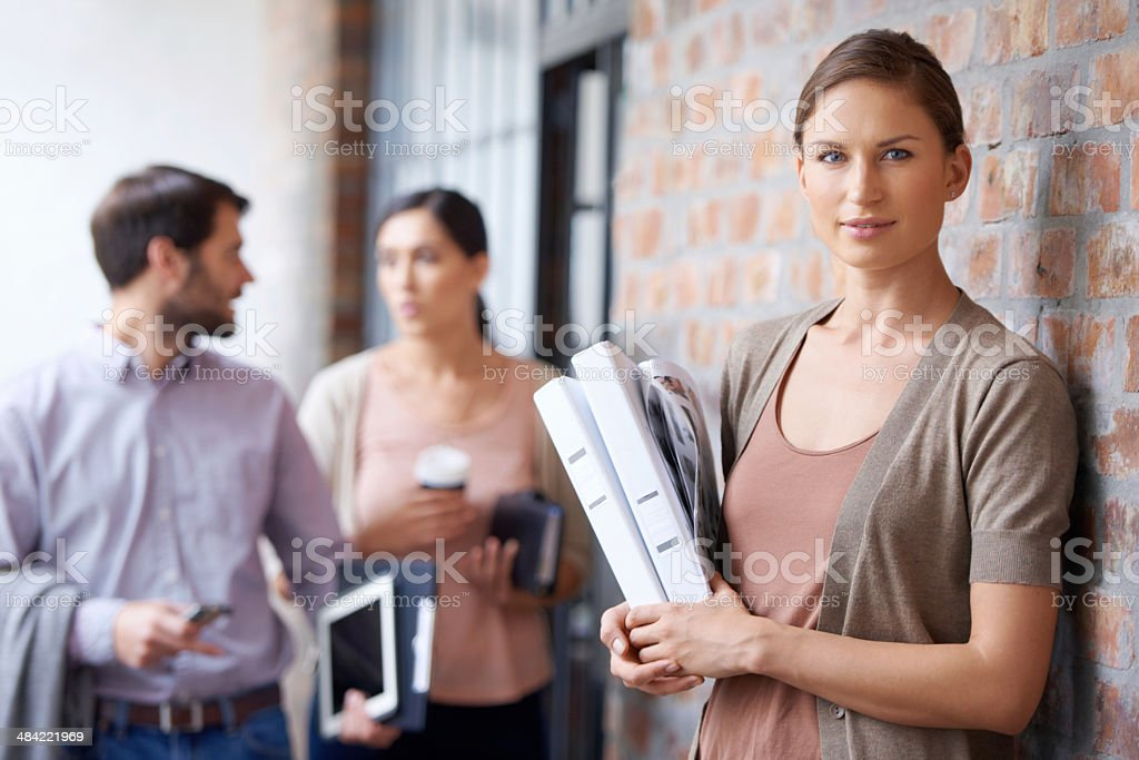 My team leaves no room for error royalty-free stock photo