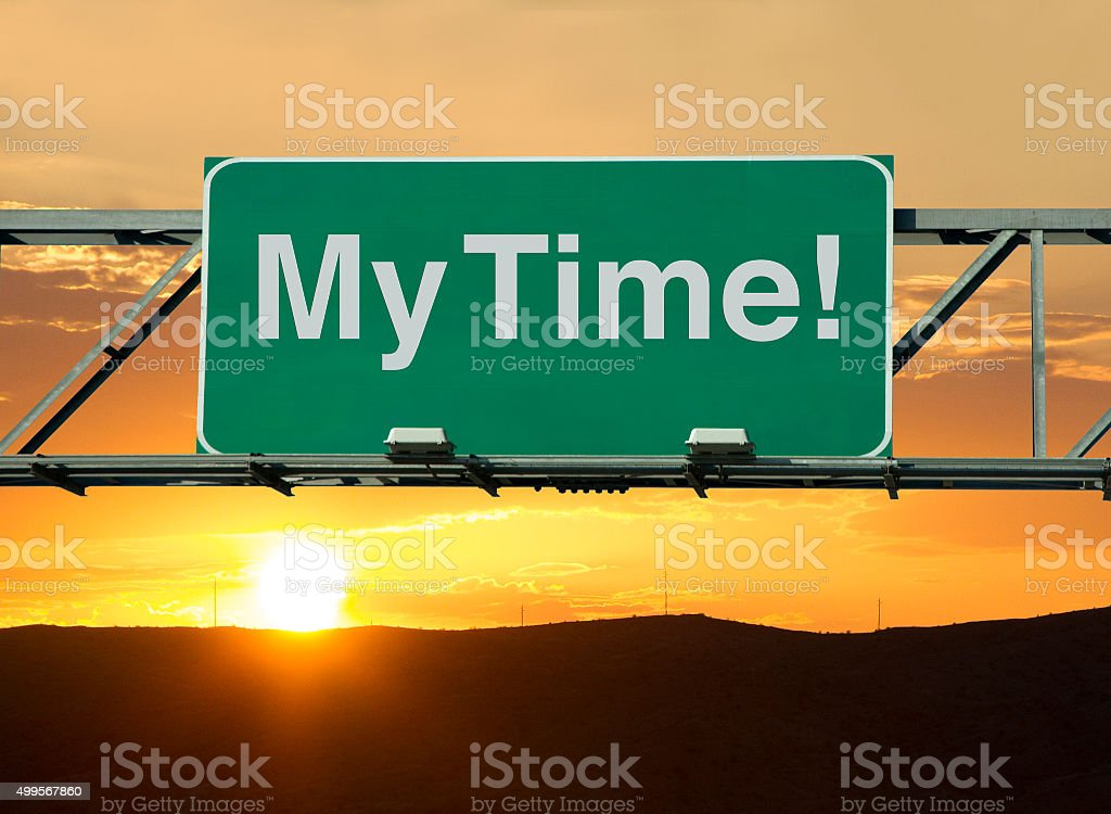 My Time stock photo