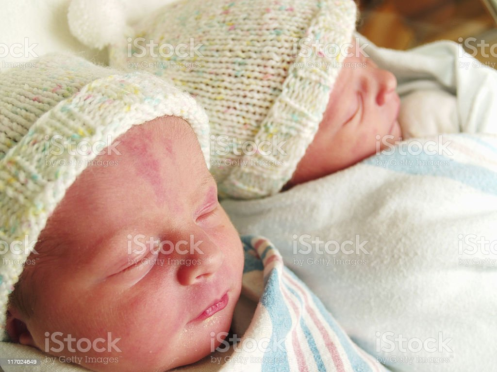 My Twins royalty-free stock photo