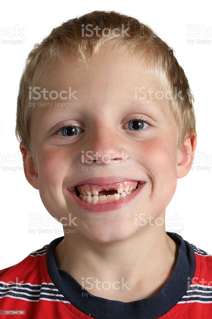 my two front teeth stock photo